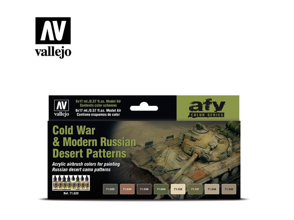 La Guerra Fría y los Modernos Patrones del Desierto Ruso (Vista 1)