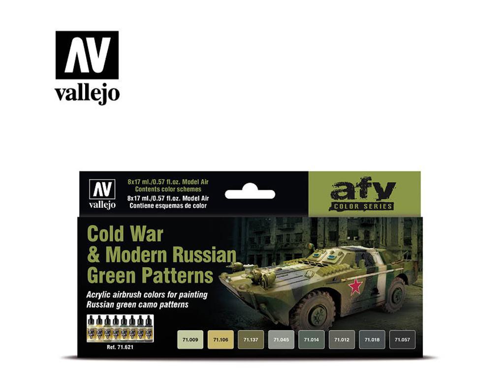 Guerra Fría y los Modernos Patrones Verdes Rusos (Vista 1)
