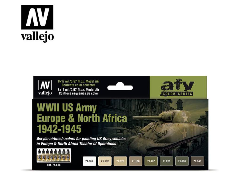 Ejército de los EE.UU. Europa y África del Norte 1942-1945 (Vista 1)