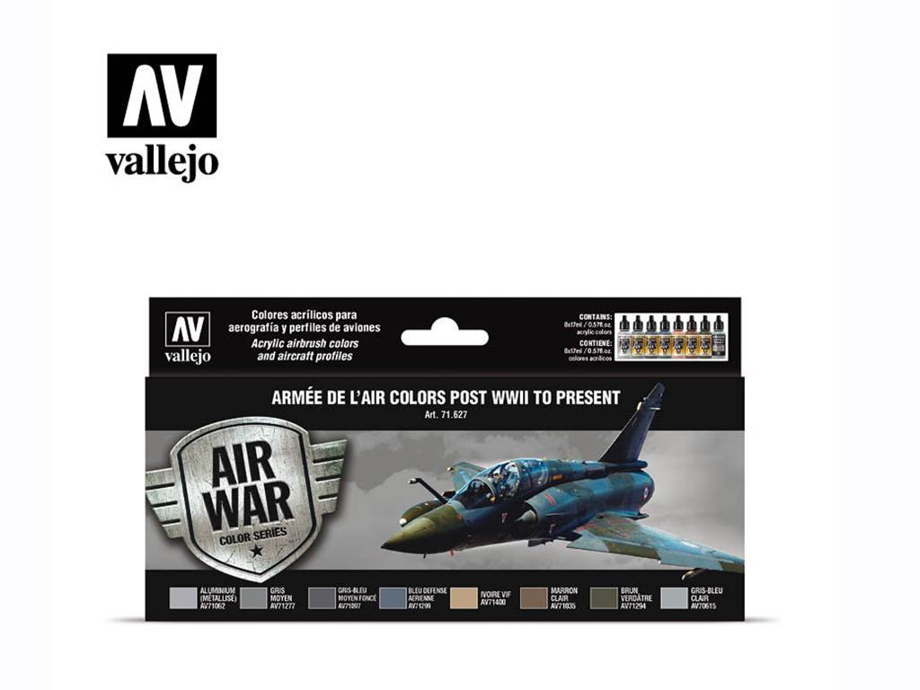 Armée de l'Air colors post WWII to present (Vista 1)