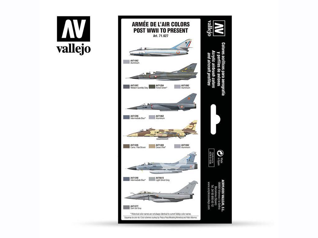 Armée de l'Air colors post WWII to present (Vista 2)