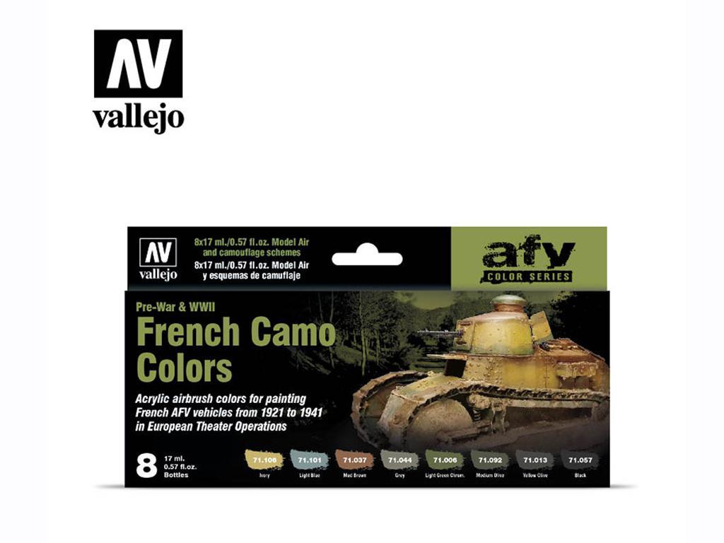 French Camo Colors Pre-War & WWII (Vista 1)