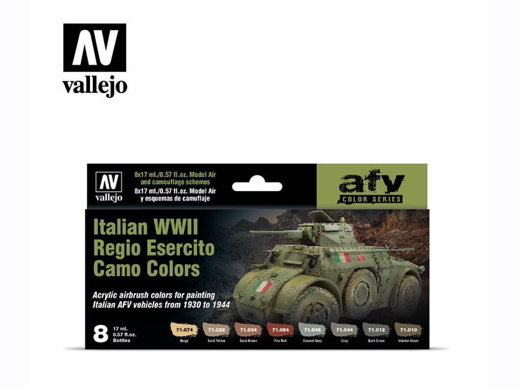 Italian WWII Regio Ejercito Camo Colors (Vista 1)