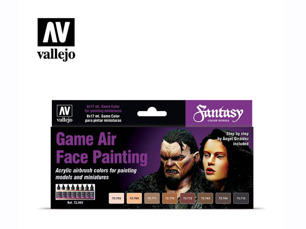 Game Air Face Painting (Vista 1)