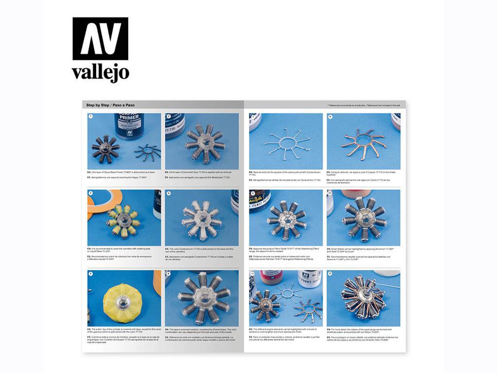 Motores de aviación (Vista 2)