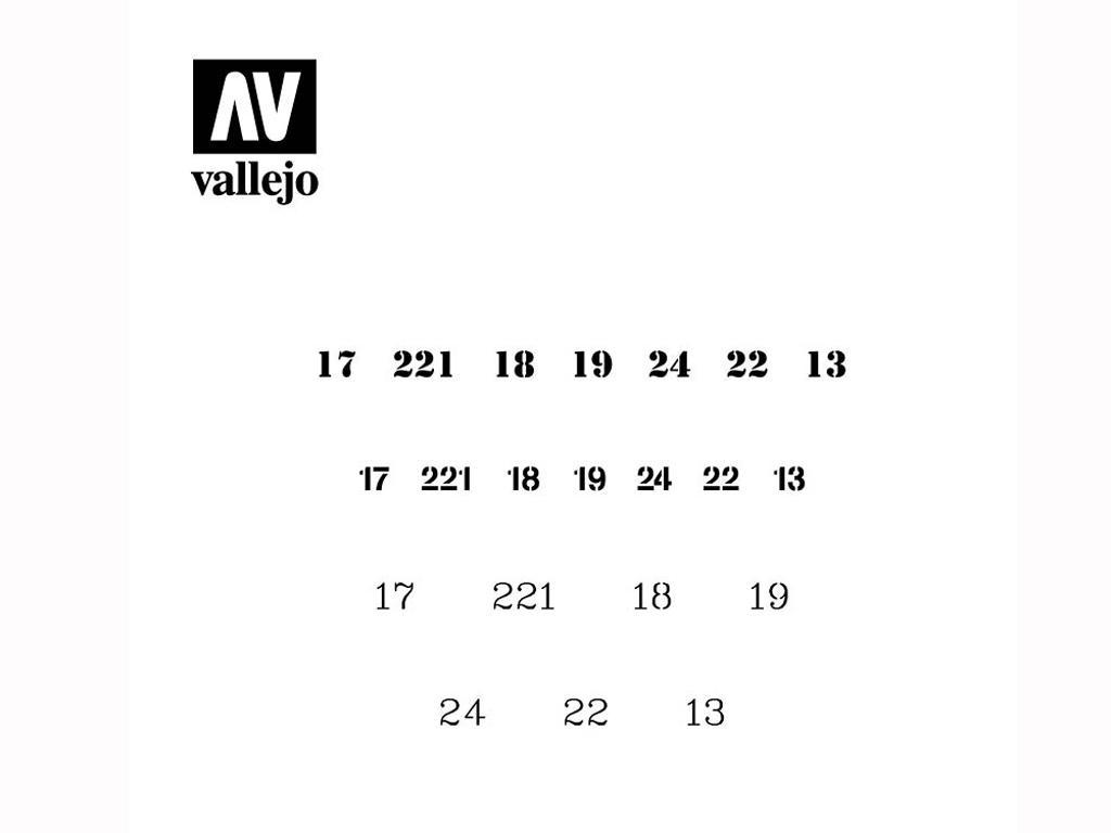 Numerales Rusos (Vista 2)