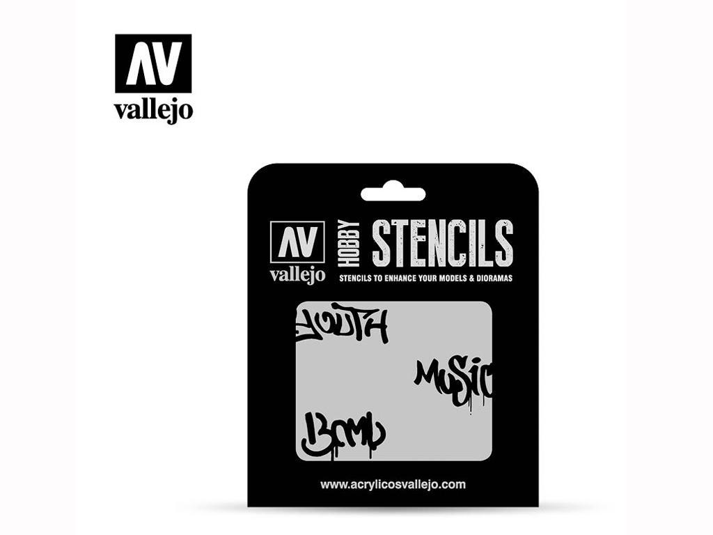 Graffiti Callejero Nº1 (Vista 1)