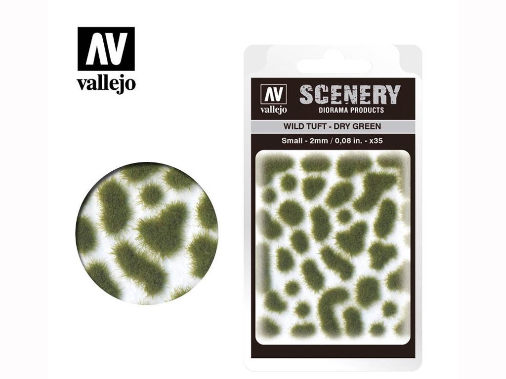 Wild Tuft – Dry Green (Vista 1)
