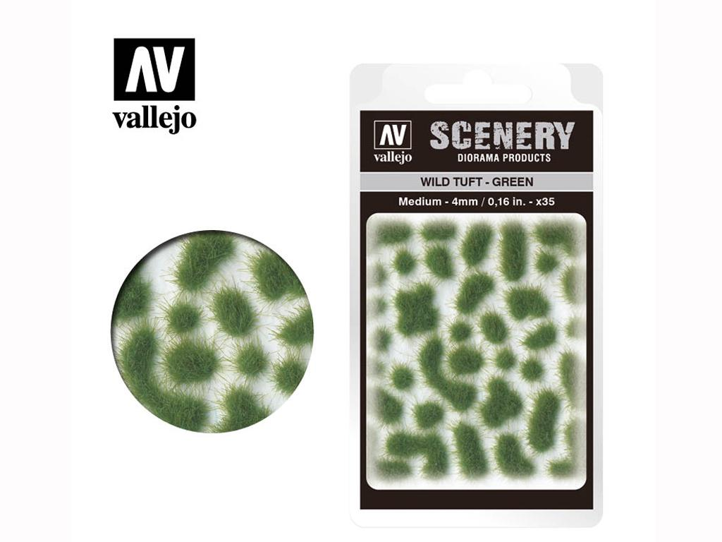 Wild Tuft - Verde (Vista 1)