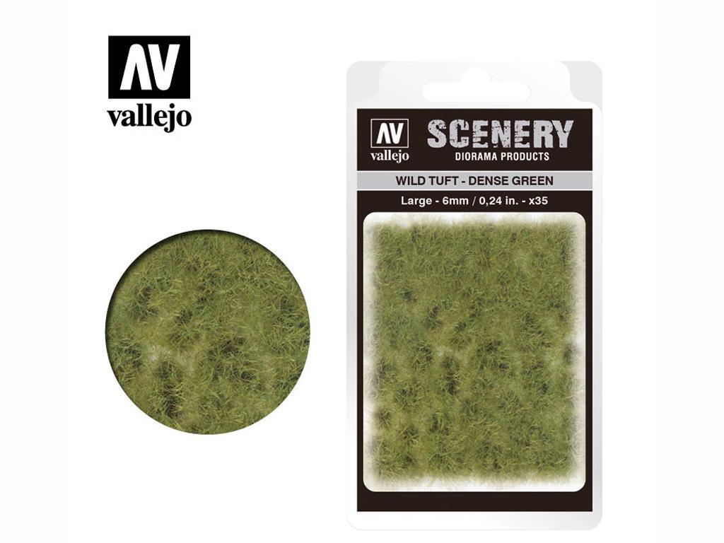 Wild Tuft – Verde Denso (Vista 1)