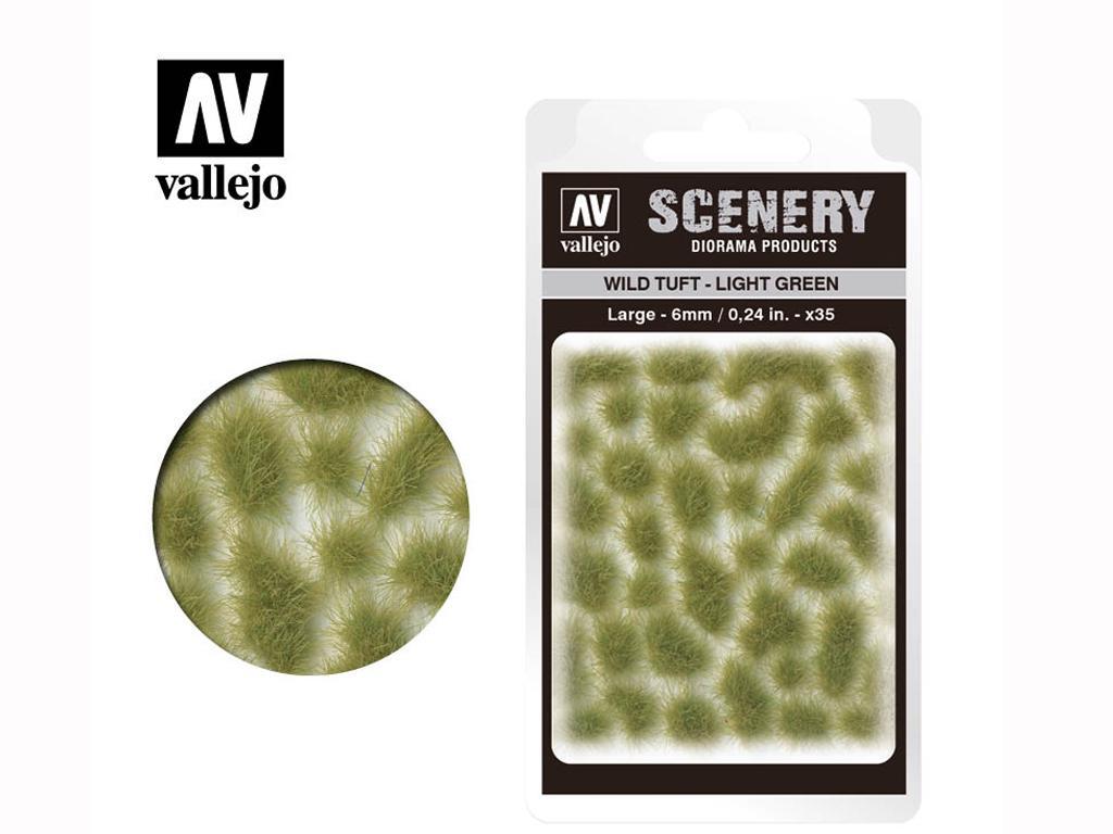 Wild Tuft – Verde Claro (Vista 1)
