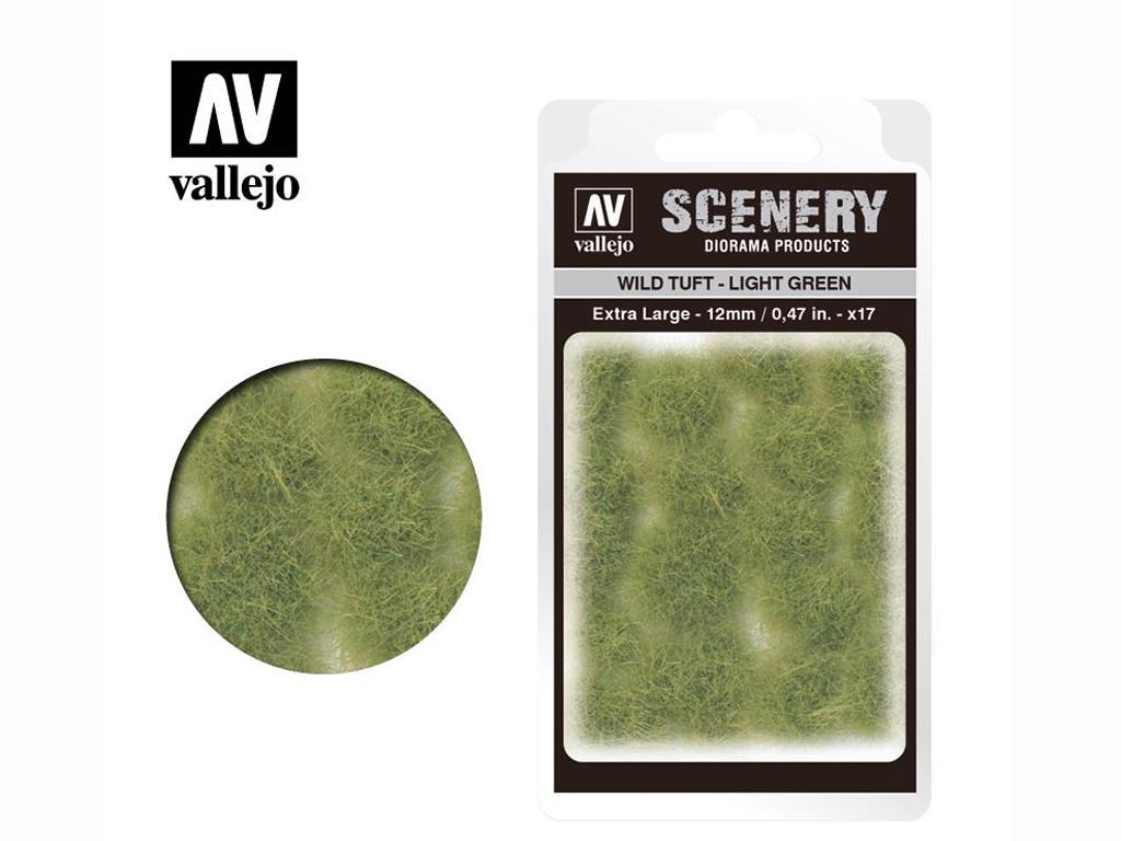 Wild Tuft – Light Green (Vista 1)
