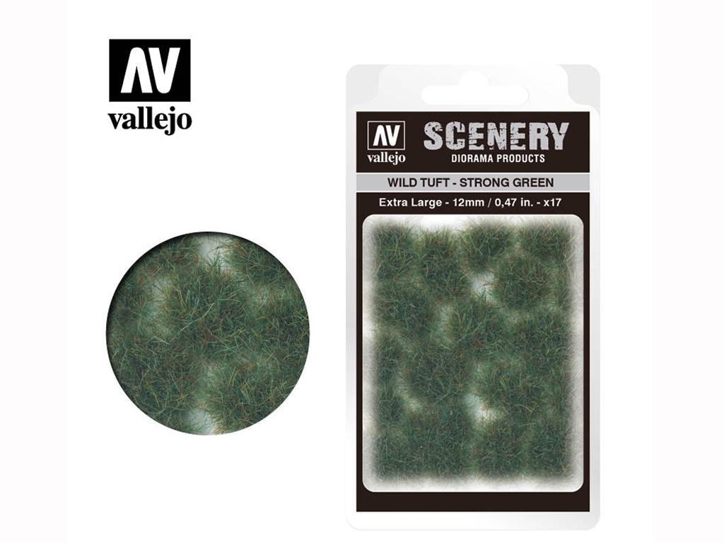 Wild Tuft – Strong Verde (Vista 1)