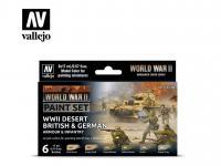 Desert British & German Armour & Infantry (Vista 3)