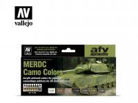 MERDC Camo Colors (Vista 3)