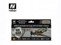 "Armée de l'Air colors 1939 to 1942 ""Battle of France"" & Vichy AF (Vista 3)"