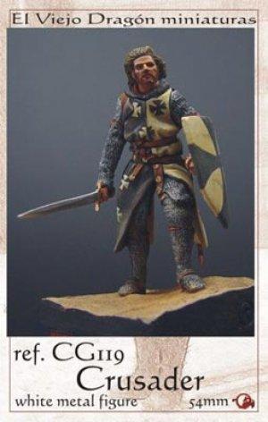 Crusader Knight XIIth century  (Vista 1)