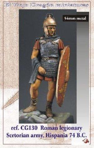 Legionario Romano - Hispania 74 B.C.  (Vista 1)