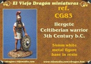 Ilergete Warrior -IIIrd Century B.C.  (Vista 1)