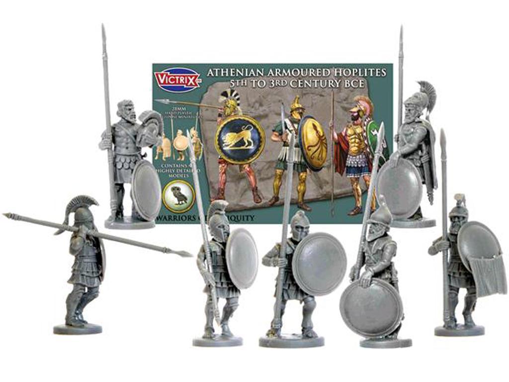 Hoplitas Atenienses (Vista 1)