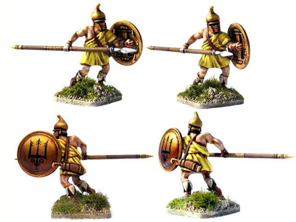 Griegos hoplitas y arqueros (Vista 4)