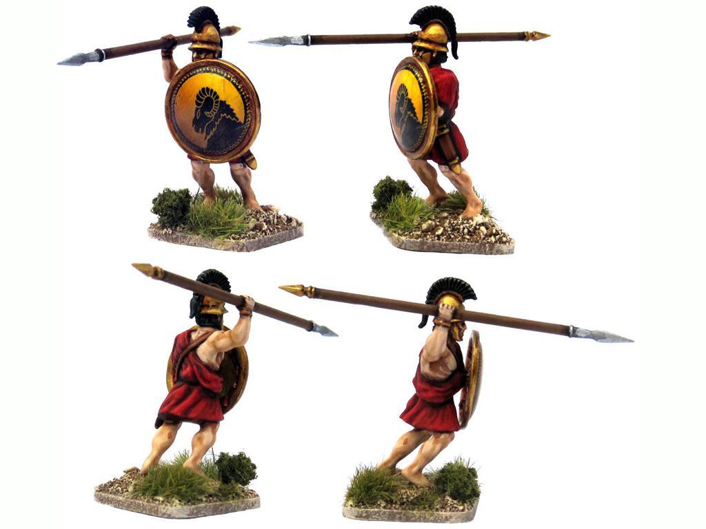 Griegos hoplitas y arqueros (Vista 5)