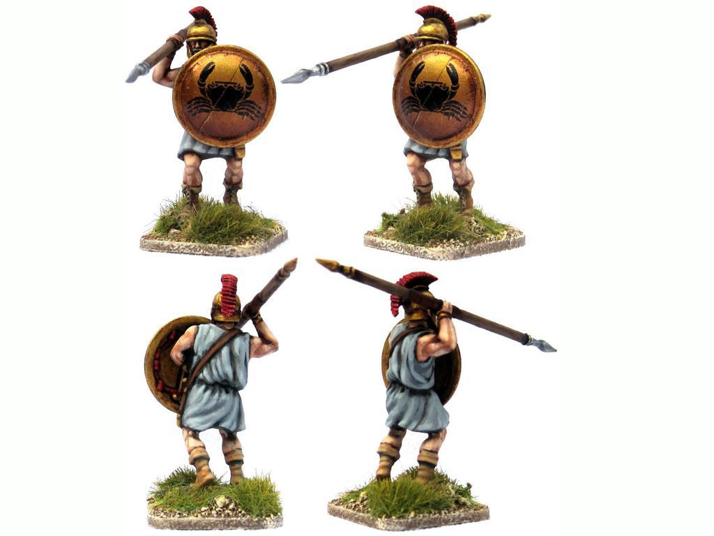 Griegos hoplitas y arqueros (Vista 6)
