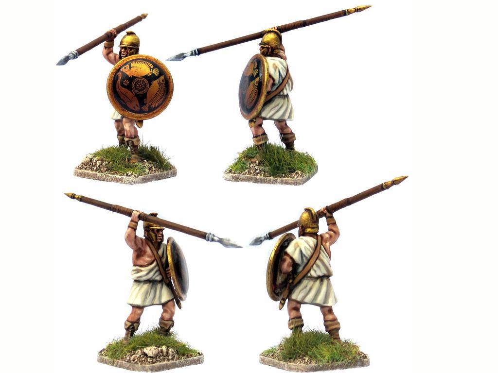 Griegos hoplitas y arqueros (Vista 7)