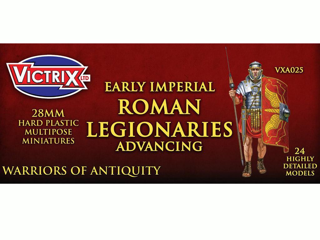 Legionarios Romanos Imperiales (Vista 1)