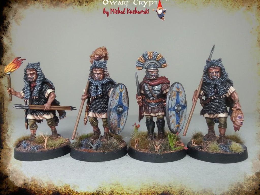 Legionarios Romanos Imperiales (Vista 2)