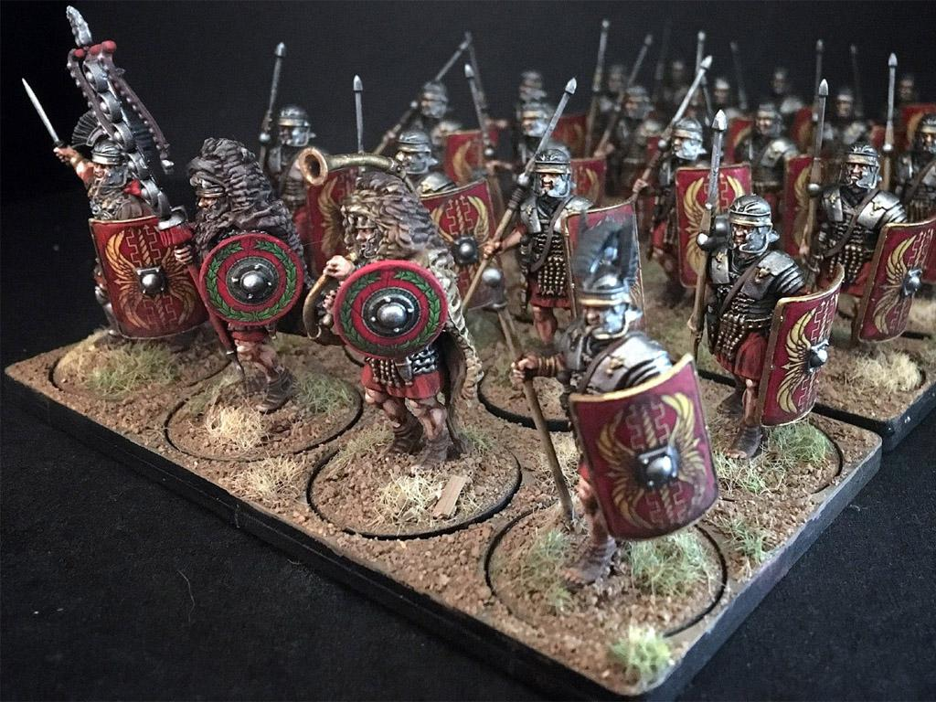 Legionarios Romanos Imperiales (Vista 4)
