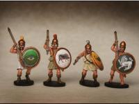 Griegos hoplitas y arqueros (Vista 11)