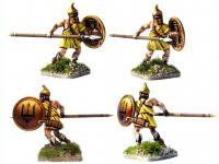 Griegos hoplitas y arqueros (Vista 13)