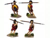 Griegos hoplitas y arqueros (Vista 14)
