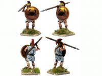 Griegos hoplitas y arqueros (Vista 15)