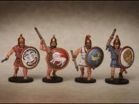 Griegos hoplitas y arqueros (Vista 18)