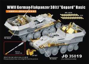 German Flakpanzer 38(t)  - Ref.: VOYA-JO35019
