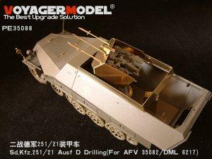 Sd.Kfz.251/21 Ausf D  - Ref.: VOYA-PE35088