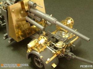 FLAK 36/37 88mm wih Zundapp  (Vista 4)