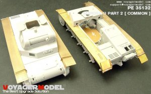 Fenders for panzer II Early Version/Mard