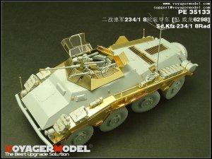 Sd.Kfz 234/1 8 RAD upgrade set  - Ref.: VOYA-PE35133