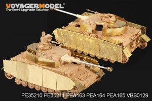 Pz.kPfw.IV Ausf F1-H Fenders - Ref.: VOYA-PE35145