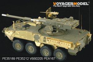 US Army M1128 MGS  (Vista 3)
