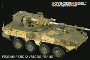 US Army M1128 MGS  (Vista 4)