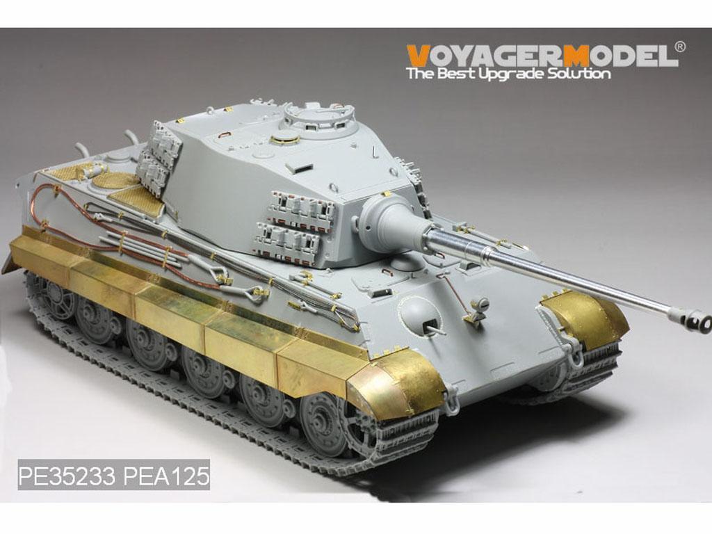 German King Tiger Hensehel Turret - Ref.: VOYA-PE35233