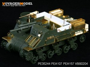 US Army M7 Priest - Ref.: VOYA-PE35244