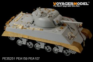 USMC M4A2 Mid Tank Late Version PTO - Ref.: VOYA-PE35251