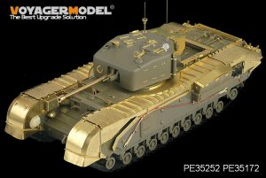British Churchill Mk.IV Infantry Tank Ba - Ref.: VOYA-PE35252