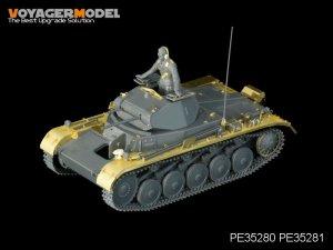 German Pz.Kpfw.II Ausf.A/B/C Fenders - Ref.: VOYA-PE35281