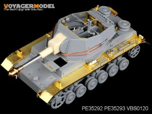 German Pz.Sfl.Ivb 10.5cm le.FH.18/1 Fend - Ref.: VOYA-PE35293